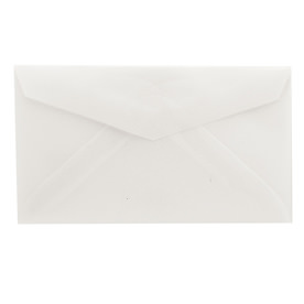Clear 2Pay Envelopes - 2 1/2 x 4 1/4