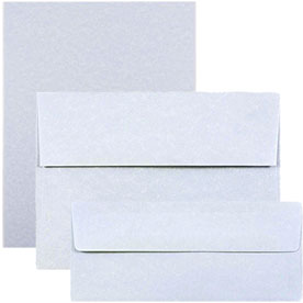 Blue Recycled Parchment Envelopes & Paper
