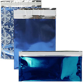 Blue Foil Envelopes