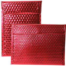 Red Metallic Bubblopes with VELCRO® Brand Closure