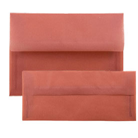 Terracotta Translucent Vellum Envelopes