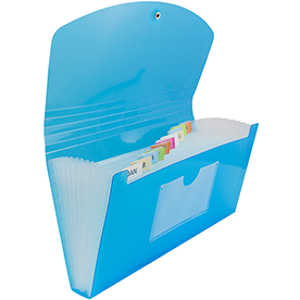 Check Size Accordion Folders - 5 x 10 1/2