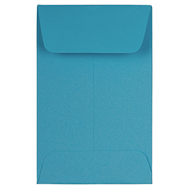 Blue #1 Coin Envelopes - 2 1/4 x 3 1/2