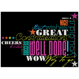 Blank Congratulations Card Sets