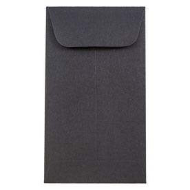 Black #5 1/2 Coin Envelopes