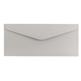 Grey #11 Envelopes - 4 1/2 x 10 3/8