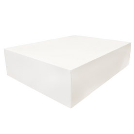 15 x 19 x 5 White Full Lid Gift Box