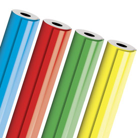 Matte Color Industrial-Size Wrapping Paper