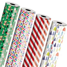 Christmas Design Industrial-Size Wrapping Paper