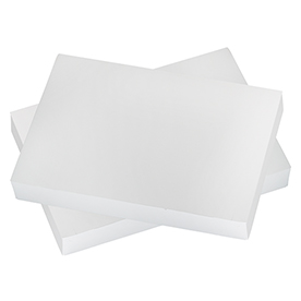 14 1/4 x 9 1/2 x 1 7/8 White Shirt Gift Boxes