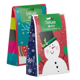 Deluxe Holiday Card Packs with Envelopes