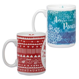 Bible Verse Christmas Mugs