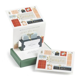 Pop-Up Christmas Gift Card Holders