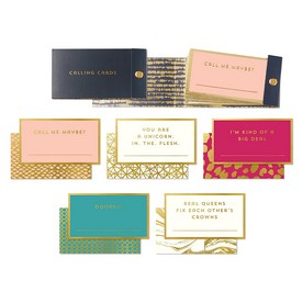Removable Calling Cards