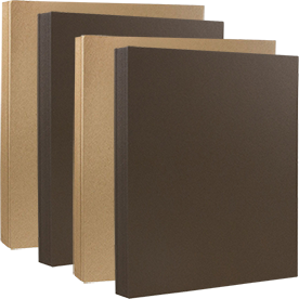 Brown Recycled Paper & Cover