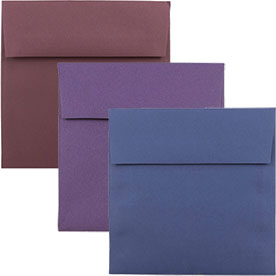 Dark Base Square Envelopes
