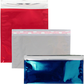 Foil Envelopes with Peel & Seal Closure
