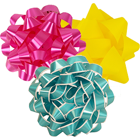 Regular Gift Bows - 5.5 Inch Diameter