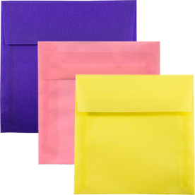 Translucent Square Envelopes