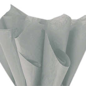Silver & Grey Tissue Paper