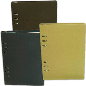 Eco Recycled Journals with Ring Binding