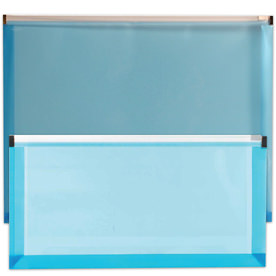 Blue Plastic Zip Closure Envelopes