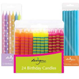 Birthday Candle Sticks