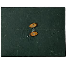 Green Rainforest Button & String Portfolio