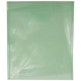 Green Plastic Tuck Flap Closure Envelopes