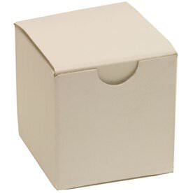 2 x 2 x 2 White Open Lid Gift Boxes