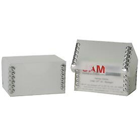2 1/4 x 3 1/2 x 2 Clear Plastic Business Card Box