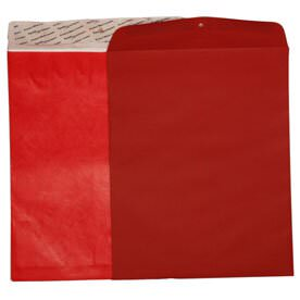 Red 11 1/2 x 14 1/2 Envelopes