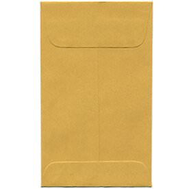 Brown #5 1/2 Coin Envelopes - 3 x 5 1/2