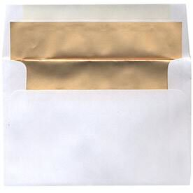 Gold 4 5/8 x 6 3/4 Envelopes