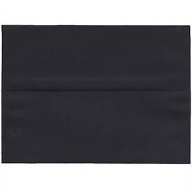 Black A7 Envelopes - 5 1/4 x 7 1/4
