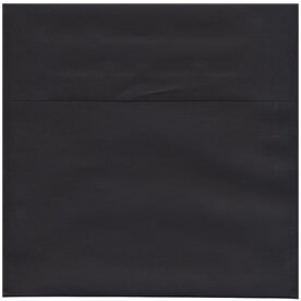 Black 9 1/2 x 9 1/2 Square Envelopes