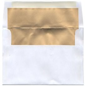 White 5 3/8 x 7 3/4 Envelopes