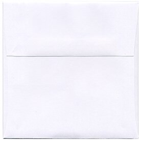 White 5 x 5 Square Envelopes