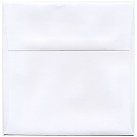 White 5 1/2 x 5 1/2 Square Envelopes