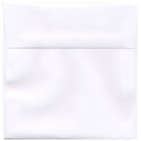 White 6 x 6 Square Envelopes