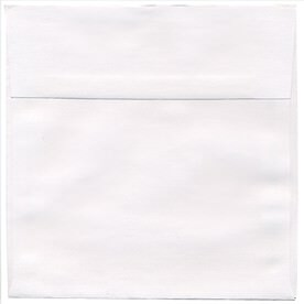 White 7 x 7 Square Envelopes