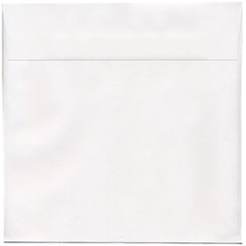 White 13 1/2 x 13 1/2 Square Envelopes