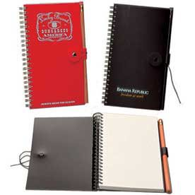 Button & String and Snap Closure Notebooks