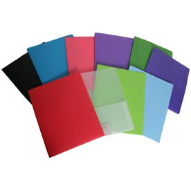 Heavy Duty Plastic Folders