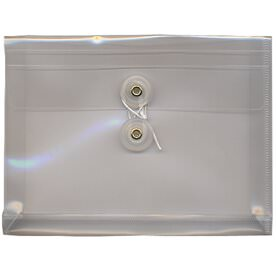 Clear Index Plastic Envelopes - 5 1/2 x 7 1/2