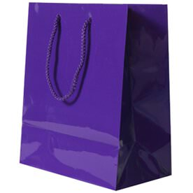 Purple Gift Bags with Handle