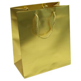 Gold Gift Bags with Handle