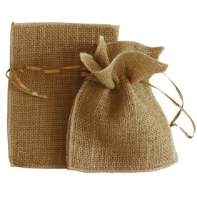 Brown Organza Bags