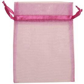 Purple Sheer Organza Bags