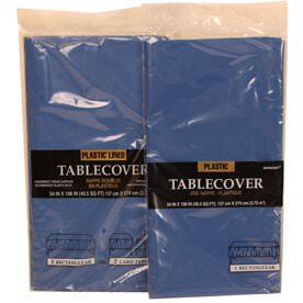 Blue Tablecovers